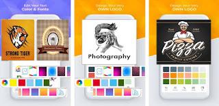 logo Make AR Tech aplikasi pembuat logo terbaik