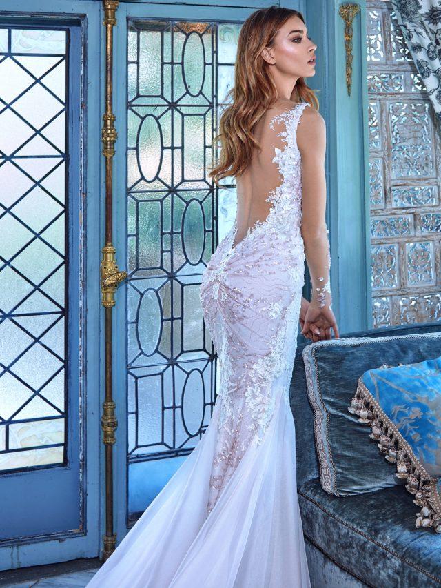 vestidos de novia elegantes y pomposos