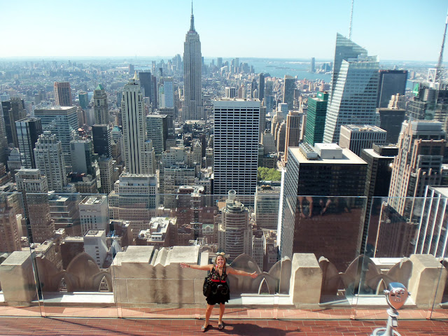Empire State i Top of the Rock (Rockefeller Center)