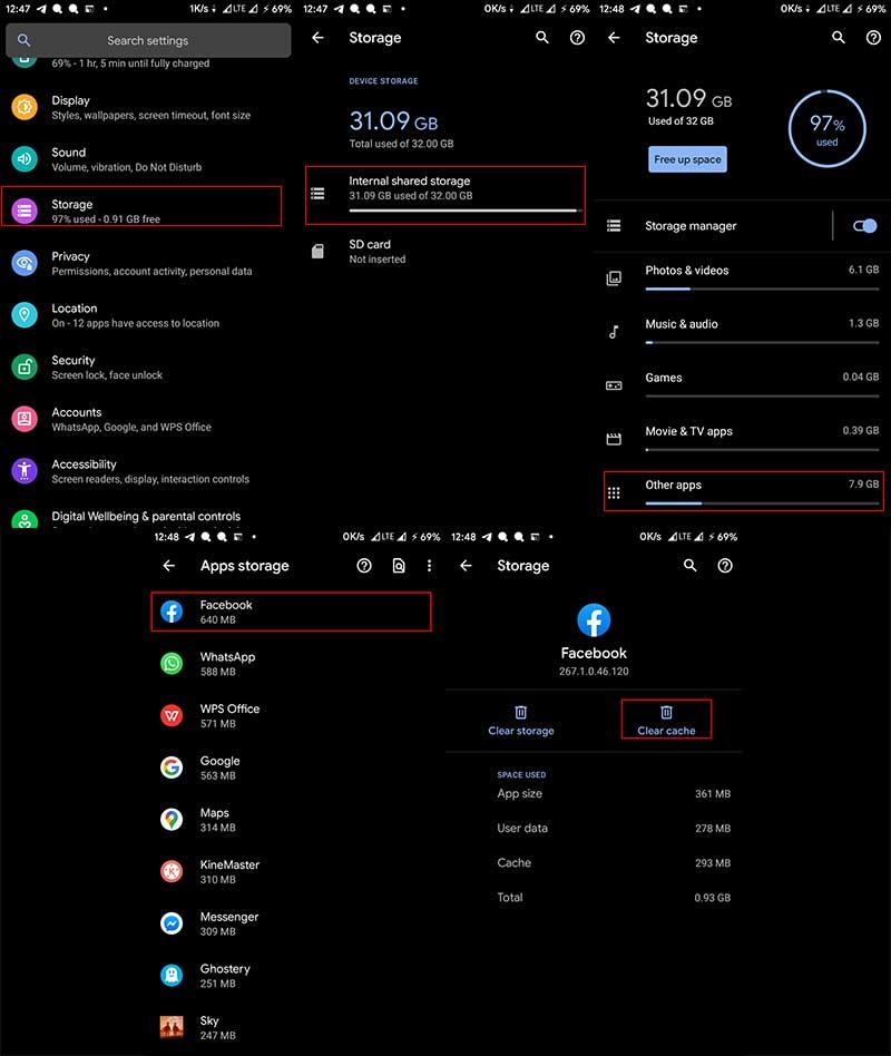 cara menghapus cache di android dengan aman