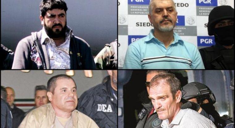 Ellos fueron una vez terror y poder: Los Capos mexicanos que han sido sentenciados en EU