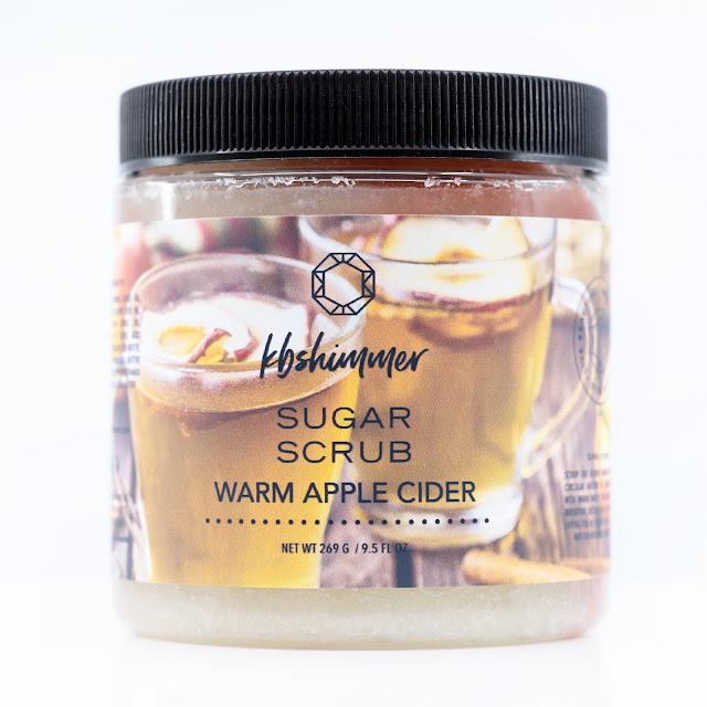 KBShimmer Warm Apple Cider Sugar Scrub
