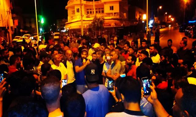 تطاوين: عودة الاحتجاجات الليليّة لشباب الكامور