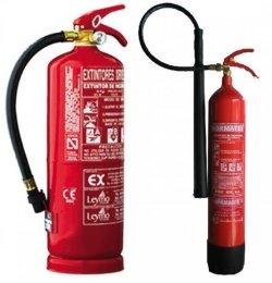 Extintores en Huelva