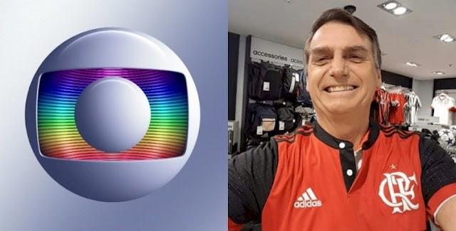 Bolsonaro impõe derrota histórica à Rede Globo