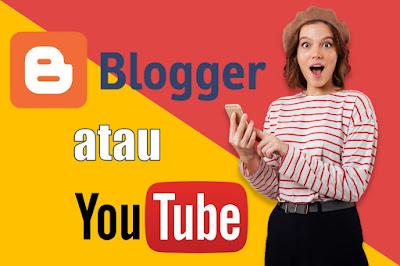 Google Adsense Youtube VS Blog, Lebih untung Youtuber atau Blogger?