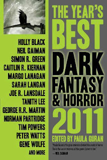 The Year's Best Dark Fantasy and Horror, 2011, copertina