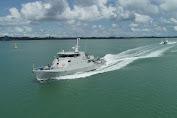 Kapal TNI AL Pandang Perkuat Lanal TBA
