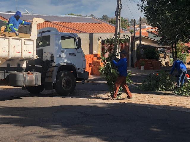 Prefeitura de Adamantina executa recapeamento asfáltico em diversos pontos da cidade