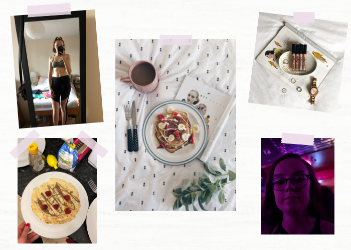 A lifestyle roundup of my week at university featuring all I've bought, watched, eaten, seen and been up to. Featuring four lots of pancakes, the hardest workout ever and a trip to the theatre.