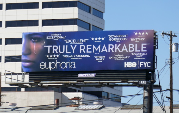 Euphoria season 1 HBO FYC billboard