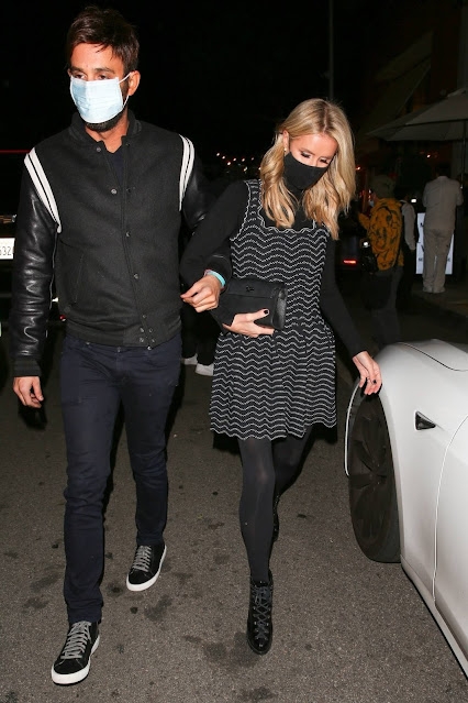Nicky Hilton – Leaving Mr. Chow in Los Angeles
