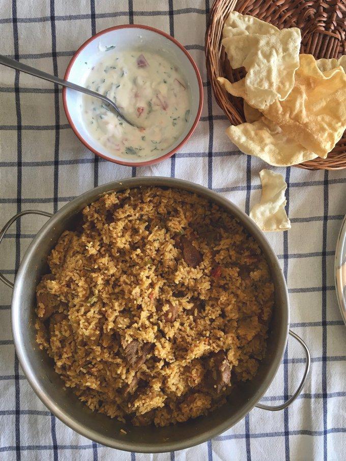 Mummy's Tamilnadu Style Mutton Biryani