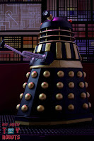 "Custom 'The Curse of Fatal Death"" Black Dalek 18"