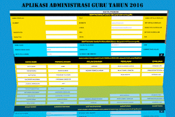 Aplikasi Administrasi Guru 2016