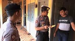 Jaga Kamtibmas Bulan Ramadhan, Polisi Razia Kos-Kosan