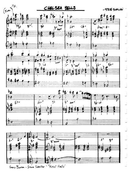 Partitura Violín Steve Swallow