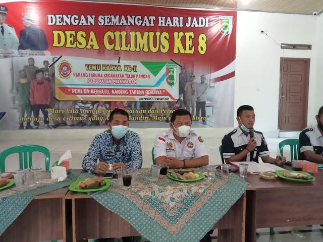 Muklis Solihin Terpilih Menjadi Ketua Karang Taruna Teluk Pandan