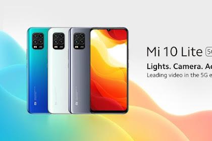 Xiaomi Mi 10 Lite, Smartphone Android Dengan Jaringan 5G