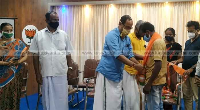 Those who came to the BJP from the CPM were accepted