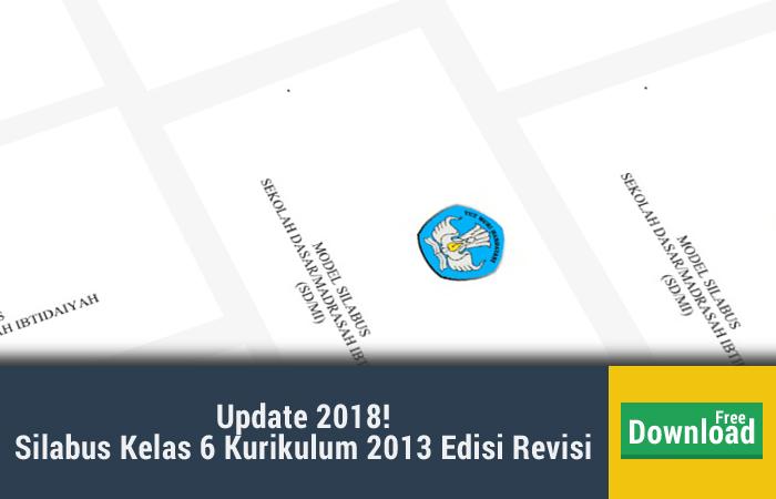 silabus kelas 6 kurikulum 2013 edisi revisi 2017