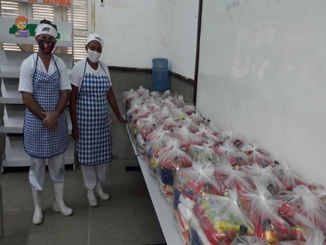 Governo do RN distribuirá 215 mil kits da merenda escolar aos alunos da rede estadual