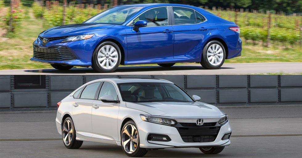 2018 Honda Accord Vs 2018 Toyota Camry Let The Battle Begin