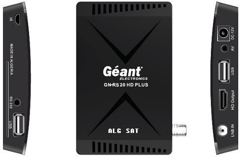 GEANT-RS 20 HD PLUS