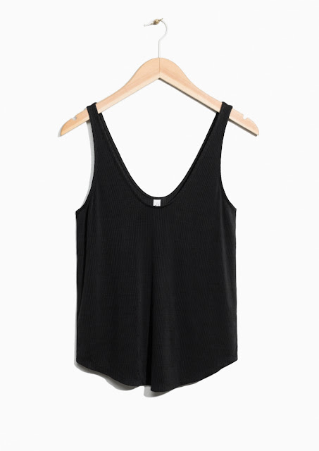 & other stories cupro tank top