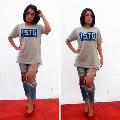 Foto Siti Badriah Pakai Celana Robek Sampai Paha