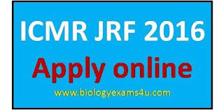 ICMR JRF exam 2016