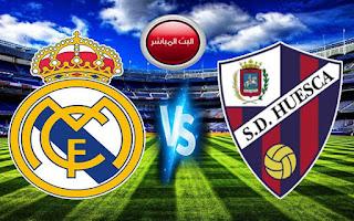 مشاهدة مباراة ريال مدريد وهويسكا اليوم السبت ضمن منافسات الدوري الاسباني