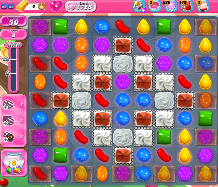 Candy Crush Saga 1728