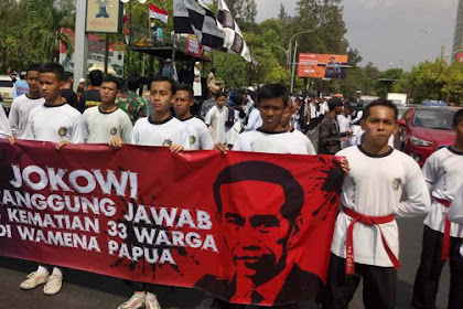Soal Wamena, Dewan Syariah Solo ke Jokowi: Jika Tak Mampu Sebaiknya Mundur