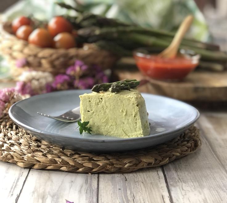 Pastel de trigueros con queso fresco