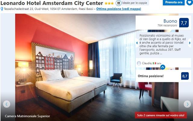 Scaduta pacchetti 1 maggio ad amsterdam 3 notti in for Hotel centrali ad amsterdam