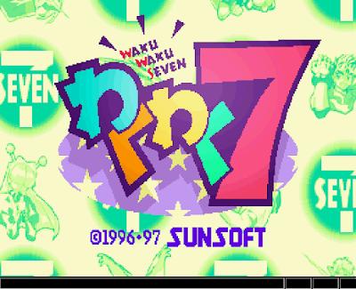 【SS】火熱火熱7(Waku Waku 7),漂亮又特別的格鬥遊戲!