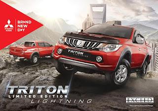 Mitsubishi Strada Triton Lightning Limited Edition