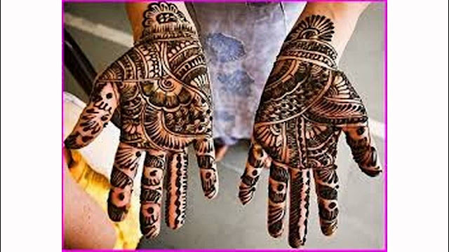 Karva Chauth Mehndi For Palm