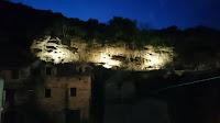Osvijetljene Ivončeve špilje, Dol slike otok Brač Online