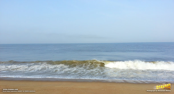 A blissful morning by the Batapady beach, near Thalapady, Ullal, Mangalore, Karnataka, India
