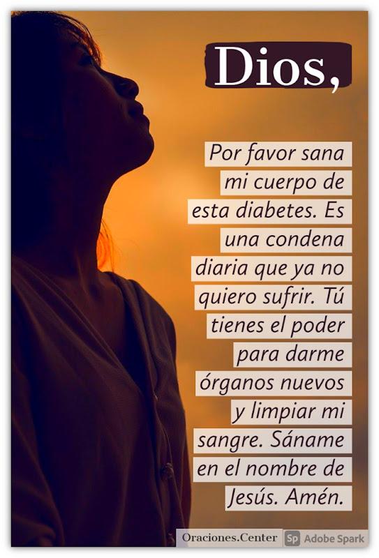 Oración por los Diabéticos