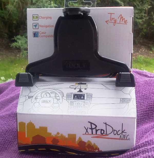 Ibolt Xprodock Windshield/Dash Mountain Alongside Nfc Tag As Well As Auto App!