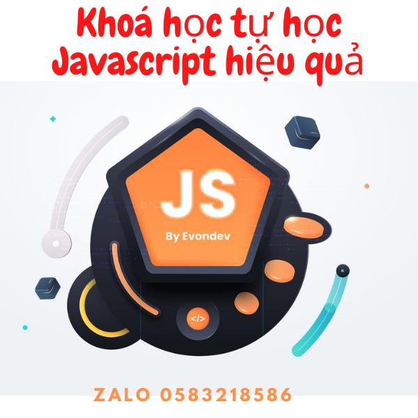 Share khóa học tự học Javascript hiệu quả cho người mới bắt đầu - Evondev