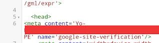 Cara verifikasi google search console