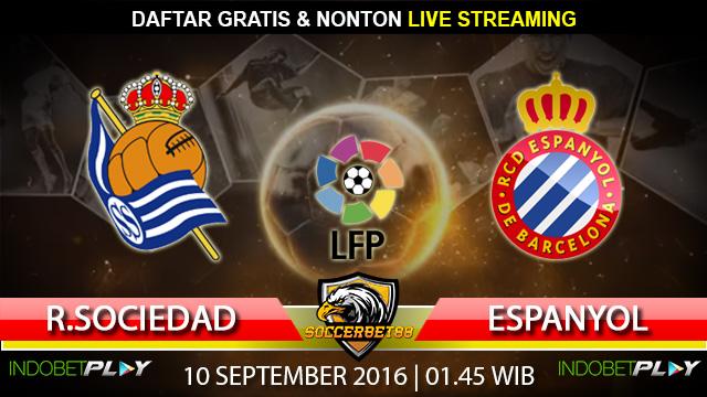 Prediksi Real Sociedad vs Espanyol 10 September 2016 (Liga Spanyol)