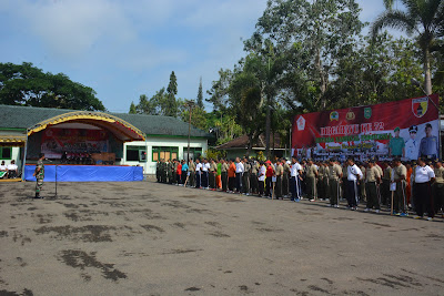 Peringati HUT TNI ke-72 Makodim 0806 Trenggalek Gelar Lomba 3 Pilar
