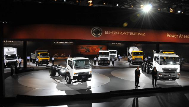 BHARATBENZ SHOWROOM