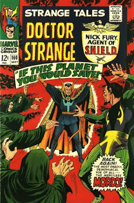 Strange Tales #160, Dr Strange