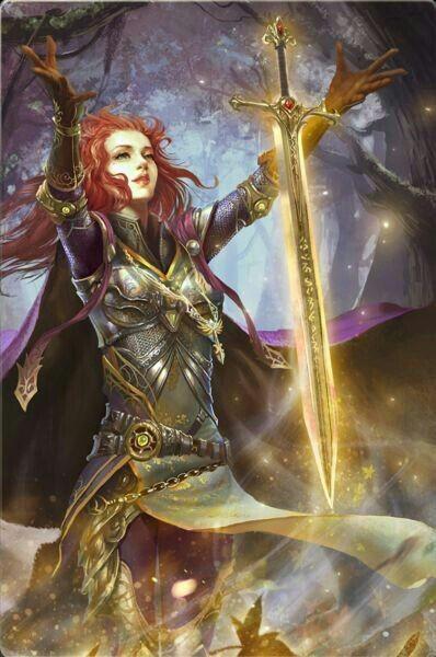 Jugando con Paladines malvados en Dungeons & Dragons - Paladina de Luz